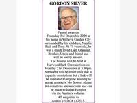 GORDON SILVER photo