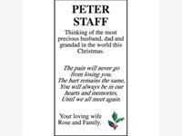 Peter Staff photo