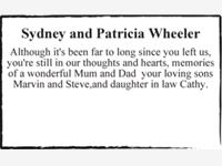 Sydney and Patricia Wheeler photo