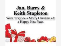 Jan & Barry Stapleton photo