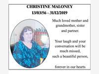 CHRISTINE MALONEY photo