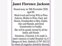 Janet Florence Jackson photo