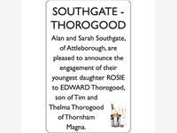 SOUTHGATE-THOROGOOD photo