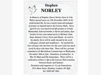 Stephen (Steve) Norley photo