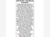 MICHAEL CHARLES GOAKES photo
