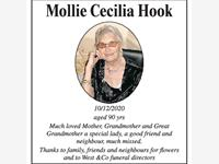 Mollie Cecilia Hook photo