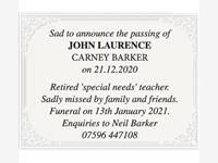 John Laurence Carney Barker photo
