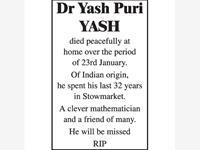 Dr Yash Pur yashYASH photo
