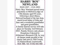 HARRY 'ROY' NEWLAND photo