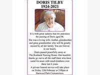Doris Tilby photo