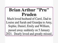 "PRUDEN, BRIAN ARTHUR ""PRU"" photo"