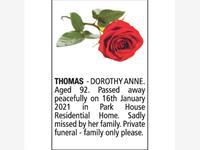 DOROTHY ANNE THOMAS photo