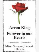 Arron King photo