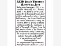 REID Jessie Thomson photo