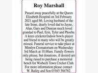Marshall – Roy photo
