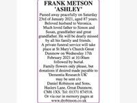 FRANK METSON photo
