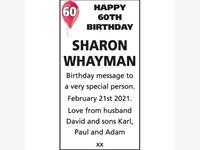 SHARON WHAYMAN photo