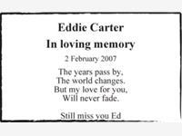 Eddie Carter photo
