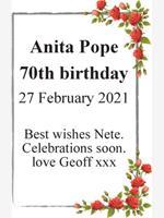 Anita Pope photo