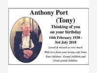 TONY PORT photo