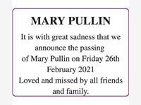 MARY PULLIN photo
