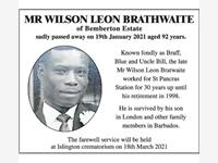 WILSON BRAITHWAITE photo