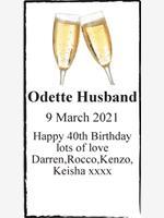 Odette Husband  photo