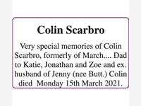 Colin Scarbro photo