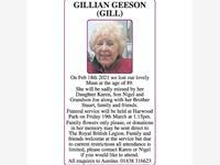 Gillian Geeson (Gill) photo