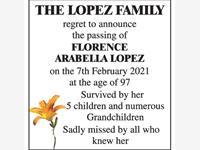 FLORENCE ARABELLA LOPEZ photo