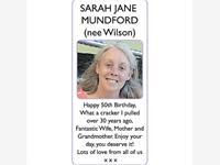 SARAH JANE (nee Wilson) MUNDFORD photo