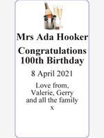 Mrs Ada Hooker photo