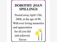DOROTHY JOAN SPILLINGS photo