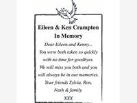 Eileen & Ken Crampton photo