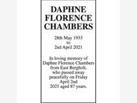 DAPHNE FLORENCE CHAMBERS photo