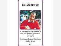 BRIAN BEARE photo