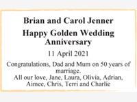 Brian and Carol Jenner photo