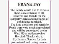 FRANK FAY photo