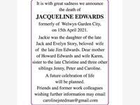 JACQUELINE EDWARDS photo