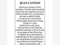 JEAN CANTON photo