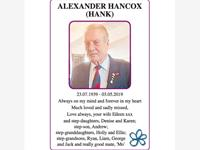 Alexander Hancox (Hank) photo