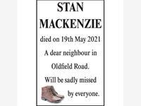 Stan Mackenzie photo