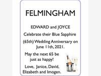 EDWARD and JOYCE FELMINGHAM photo