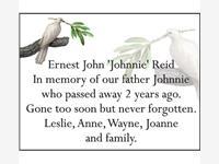 "Ernest John ""Johnnie"" Reid photo"