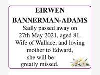 EIRWEN  BANNERMAN-ADAMS photo
