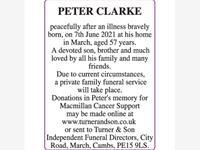 PETER CLARKE photo
