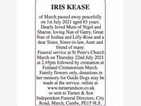 IRIS KEASE photo