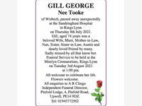 GILL GEORGE photo