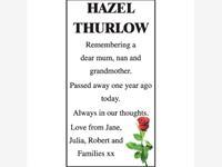 HAZEL THURLOW photo