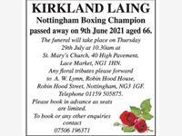 Kirkland Laing photo